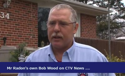 Bob Wood of Mr Radon Interviewed on CTV News
