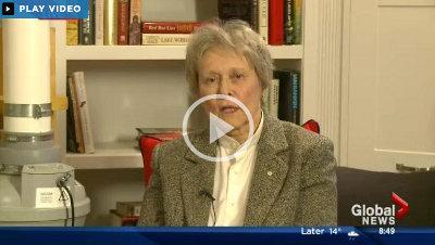 Link to global news video: Dr Bondar on radon gas dangers