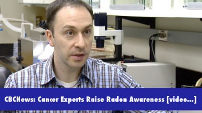 Aaron Goodarzi with the Southern Alberta Cancer Research Institute