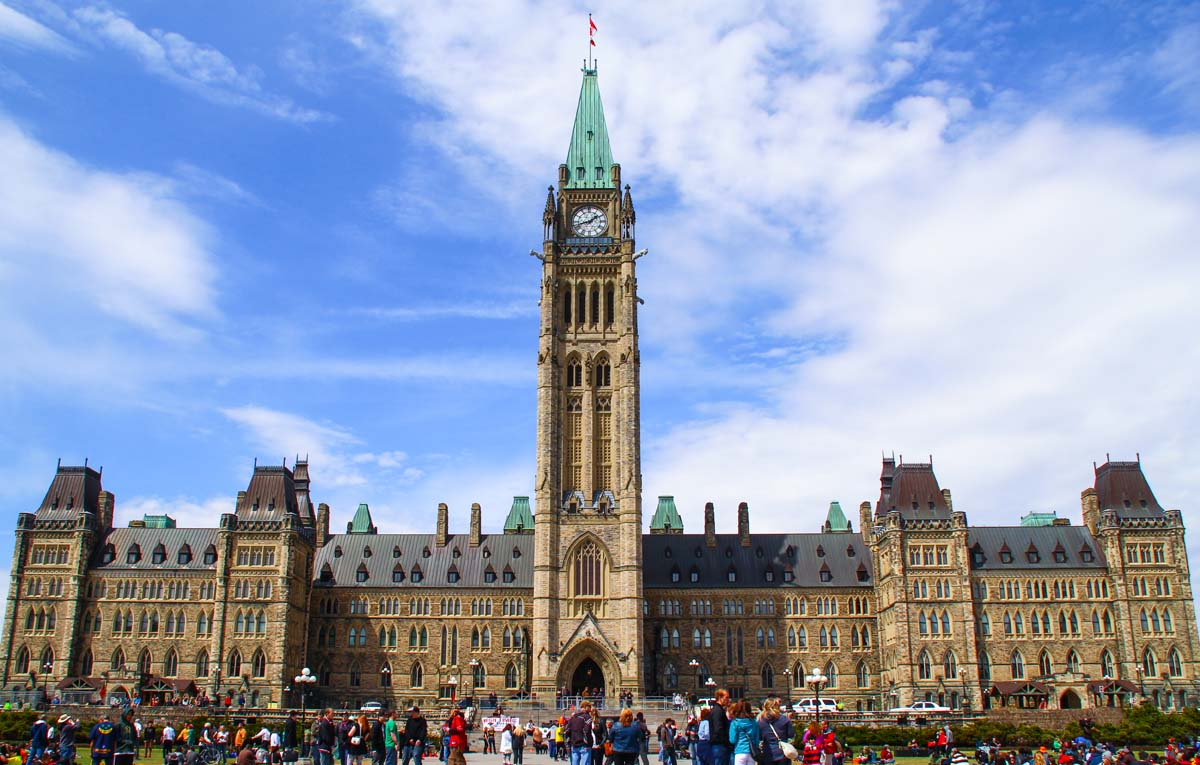 radon Ottawa - Parliament buildings